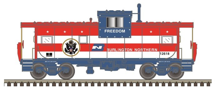 Atlas N Extended Vision Caboose