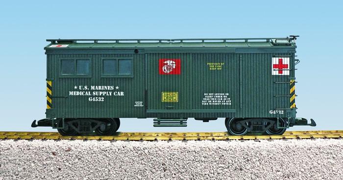 USA Trains US Marine Corps Medical Car