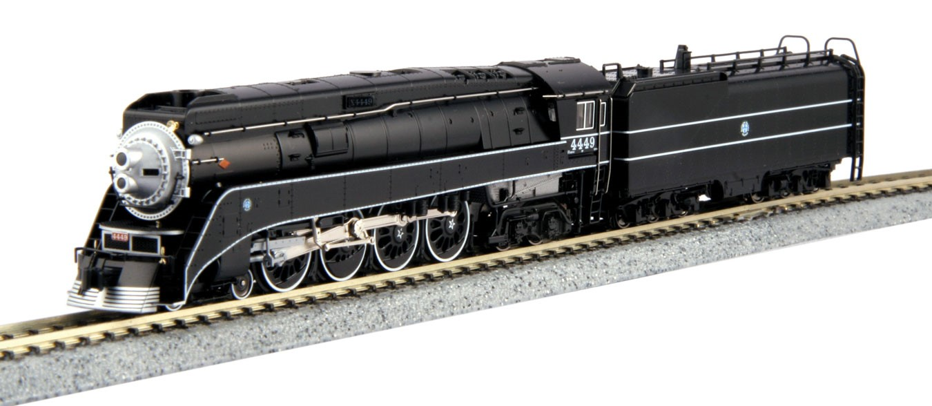 Steam Engines Kato N Scale Rd Hobby Modellbahnen Track Wiring 4 8 Gs Bnsf 4449